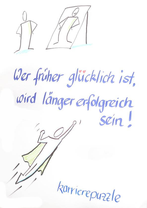 Glueck erlangen mit karrierepuzzle.de